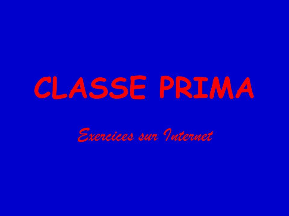 Verbes en -er http://www.sprachenzentrum.com/horizon/grammaire/gram_u1/verb eser_druck.htmhttp://www.sprachenzentrum.com/horizon/grammaire/gram_u1/verb eser_druck.htm http://www.lepointdufle.net/ressources_fle/present_1er_groupe1.htm http://www.estudiodefrances.com/exercices/exopresente.htm http://www.cengagelearning.com.au/secondary/Lote/tapis- volant/studentbook1/unit3/u03_grammaire_a01.htmlhttp://www.cengagelearning.com.au/secondary/Lote/tapis- volant/studentbook1/unit3/u03_grammaire_a01.html http://edtech.tph.wku.edu/~nlove/101-102/interact101-102/r- p_u02_verb_1st_conj.htmhttp://edtech.tph.wku.edu/~nlove/101-102/interact101-102/r- p_u02_verb_1st_conj.htm http://www.parlo.com/fr/learn/courses/interactive-01-sp/lesson- 02/gramexercice2_en.asphttp://www.parlo.com/fr/learn/courses/interactive-01-sp/lesson- 02/gramexercice2_en.asp http://jeudeloie.free.fr/debutant/present1/oie.html