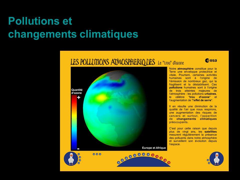 Pollutions et changements climatiques