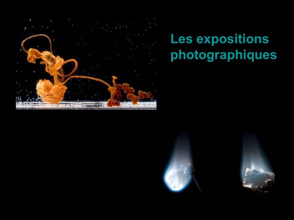 Les expositions photographiques