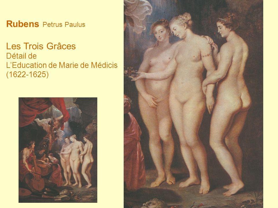Rubens Petrus Paulus Les Trois Grâces Détail de LEducation de Marie de Médicis (1622-1625)