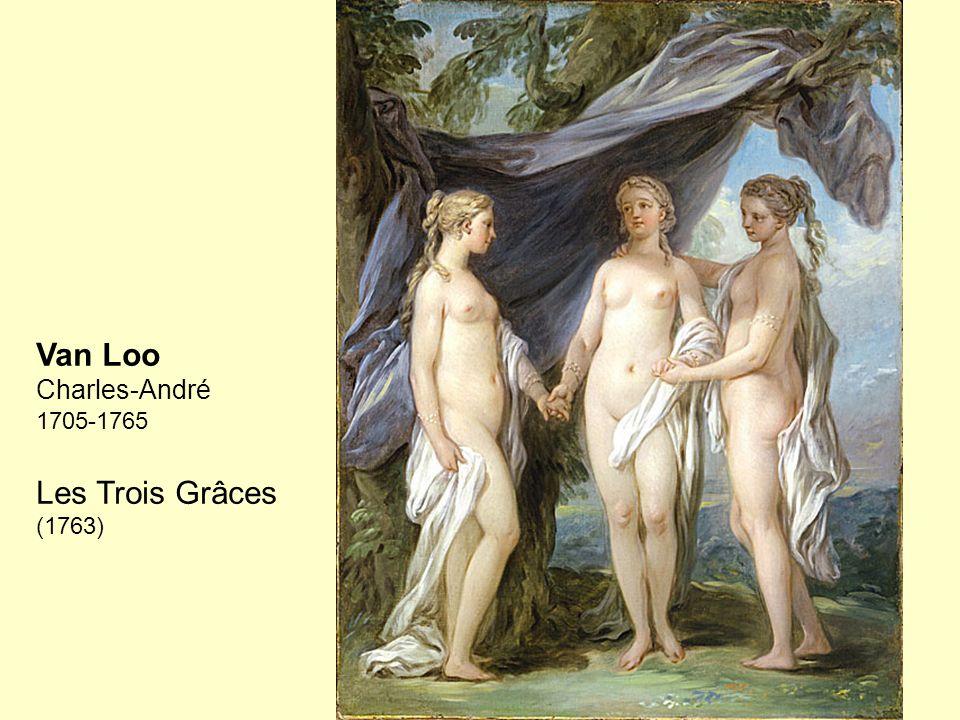 Van Loo Charles-André 1705-1765 Les Trois Grâces (1763)