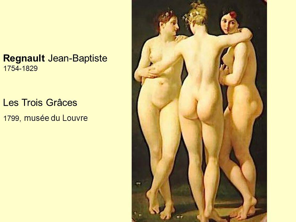 Regnault Jean-Baptiste 1754-1829 Les Trois Grâces 1799, musée du Louvre