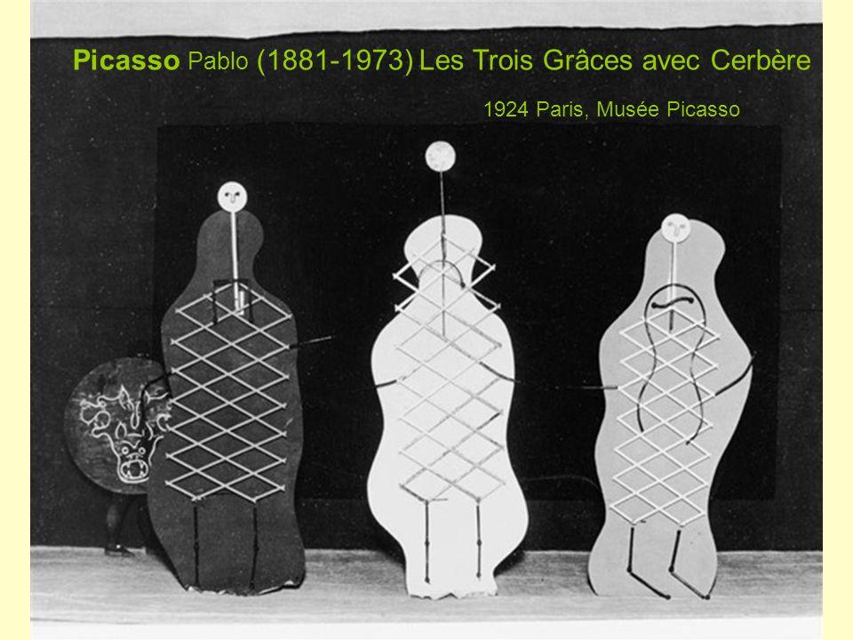 Picasso Pablo (1881-1973) Les Trois Grâces avec Cerbère 1924 Paris, Musée Picasso
