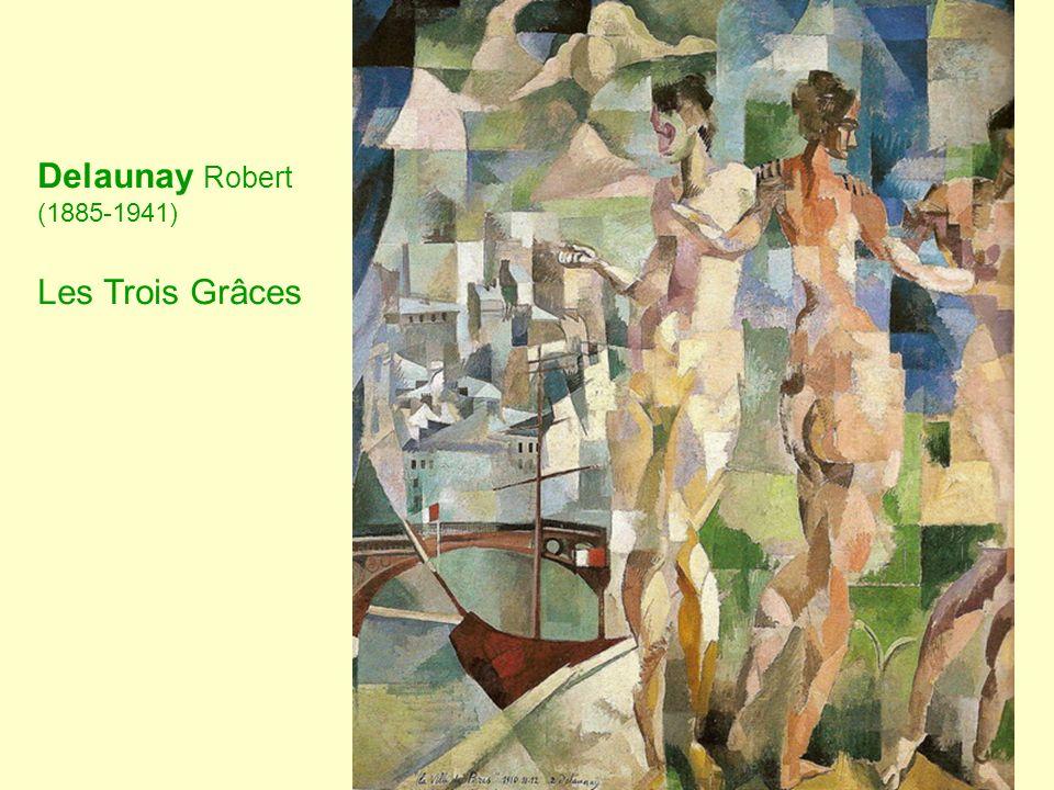 Delaunay Robert (1885-1941) Les Trois Grâces