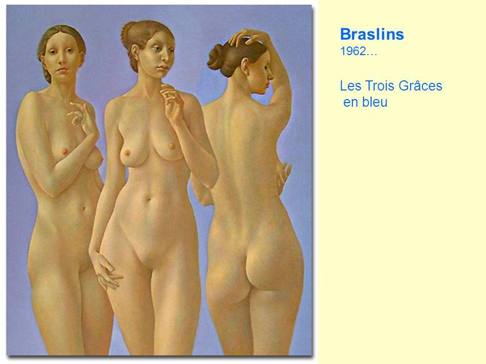Braslins 1962… Les Trois Grâces en bleu