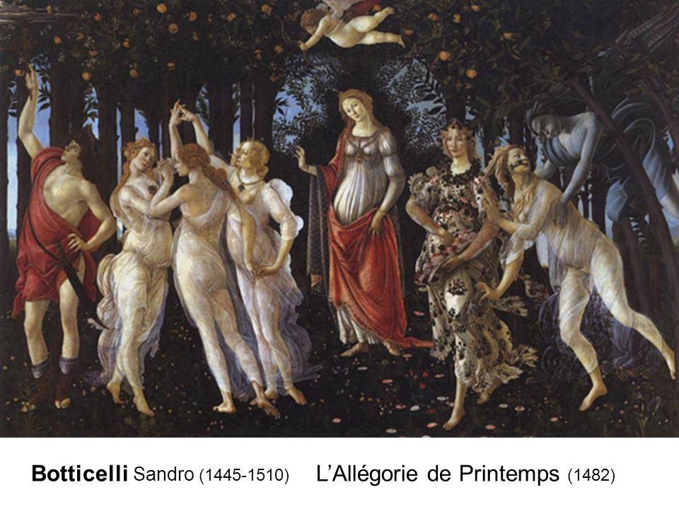 Botticelli Sandro (1445-1510) LAllégorie de Printemps (1482)