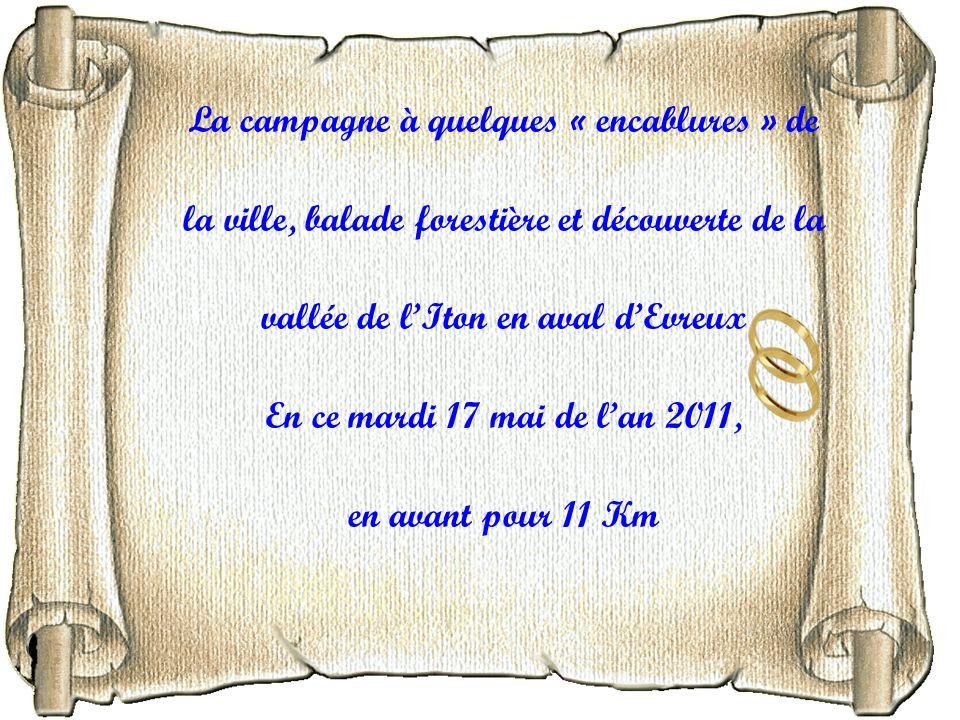 Balade pédestre Sortie du 17 mai 2011 à Tourneville / Autrebosc