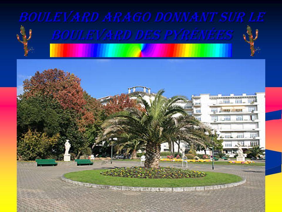 boulevard Arago donnant sur le Boulevard des Pyrénées