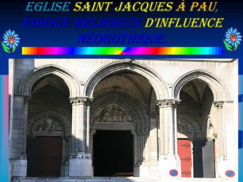 Parc Beaumont dans lequel on peut découvrir Le Palais Beaumont.