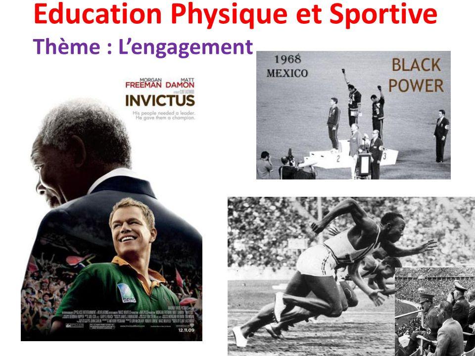 Education Physique et Sportive Thème : Lengagement