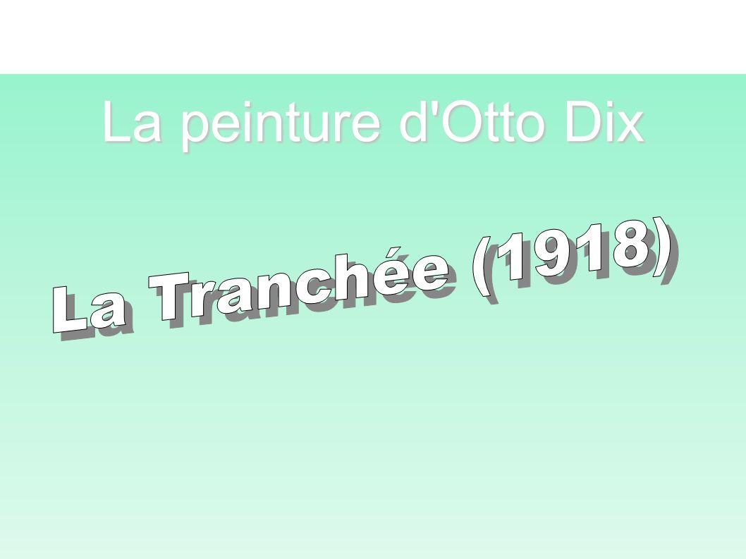 La peinture d Otto Dix