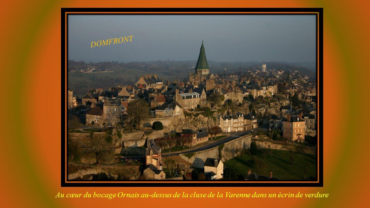 DOMFRONT (Orne) Photo montage
