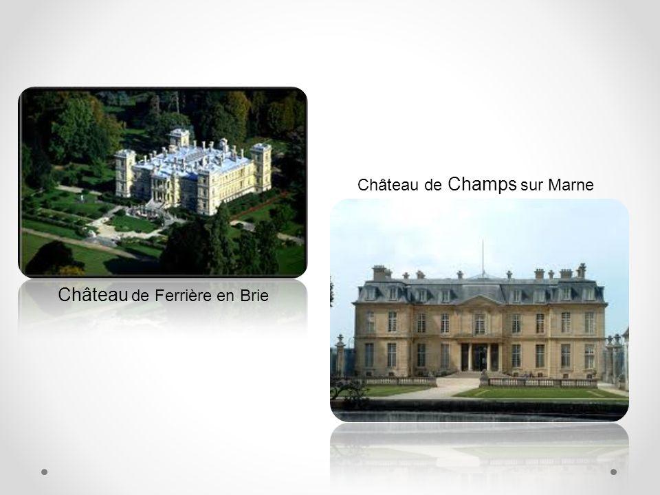 Son patrimoine historique Château de Blandy les Tours Château de Nemours Ses Châteaux