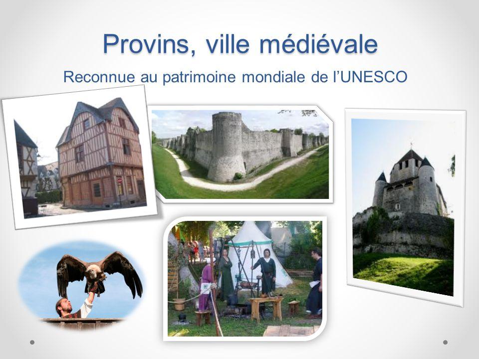 Provins, ville médiévale Reconnue au patrimoine mondiale de lUNESCO