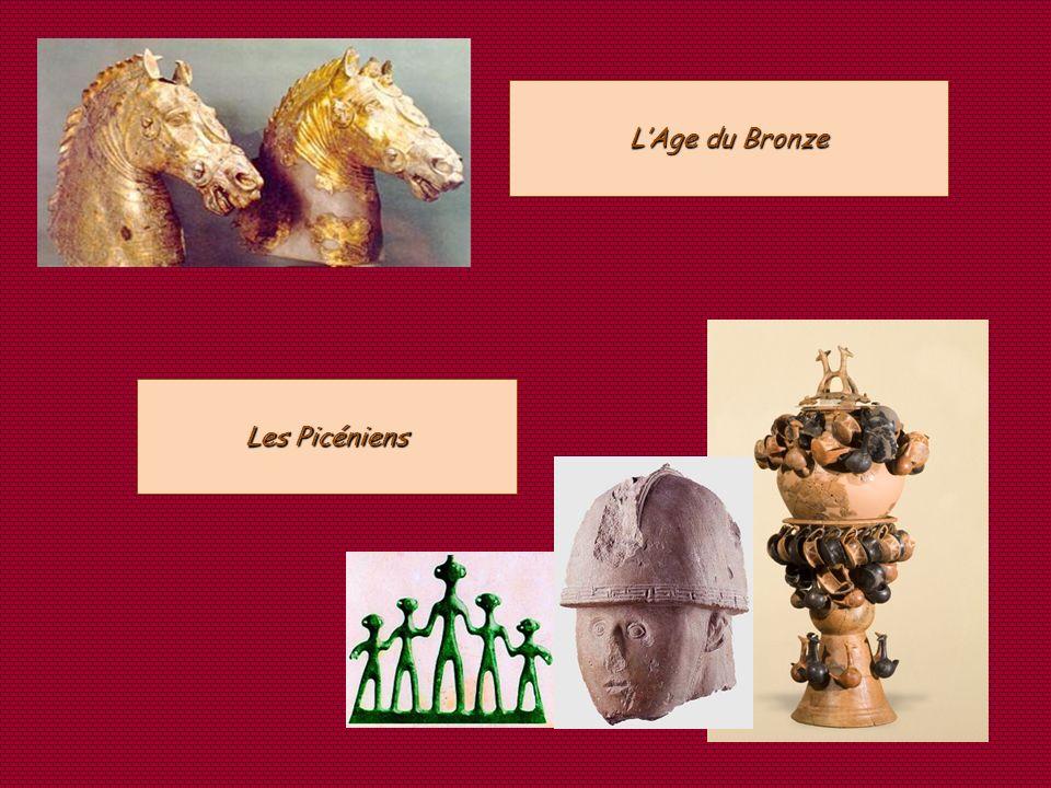 Les Picéniens LAge du Bronze