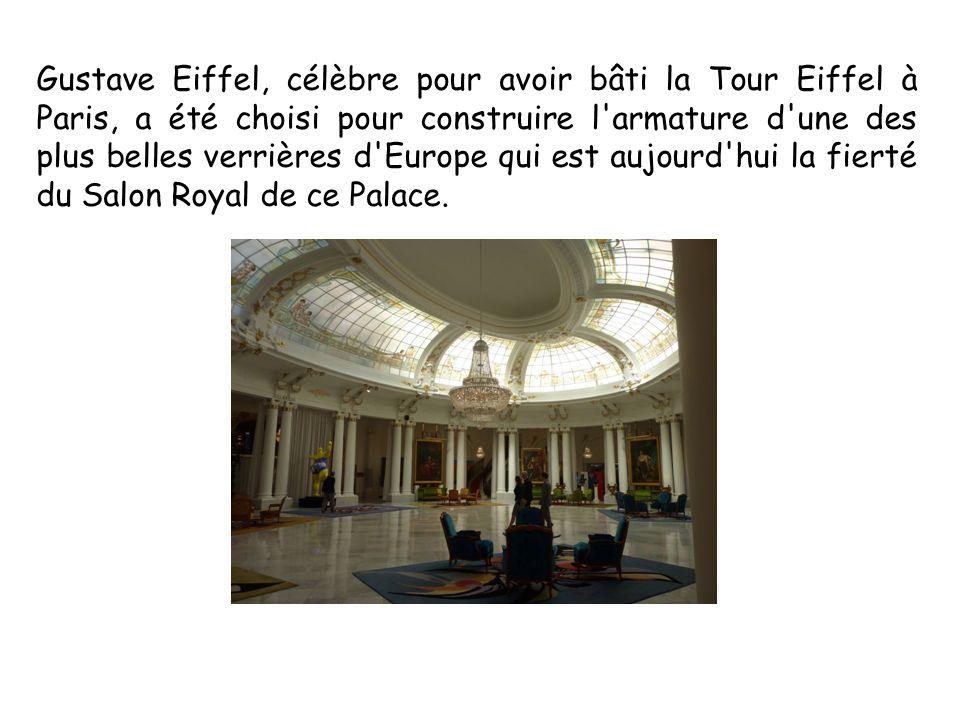 Gustave Eiffel, célèbre pour avoir bâti la Tour Eiffel à Paris, a été choisi pour construire l'armature d'une des plus belles verrières d'Europe qui e