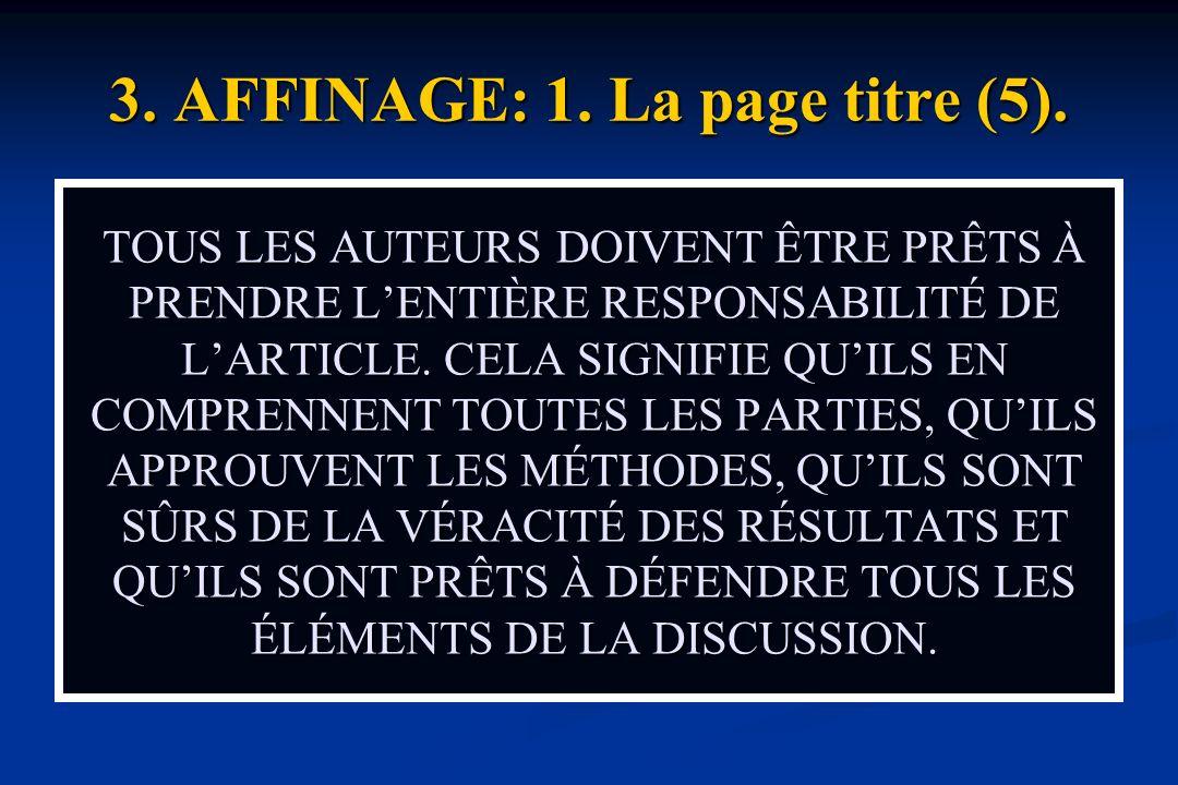 3.AFFINAGE: 1. La page titre (5).