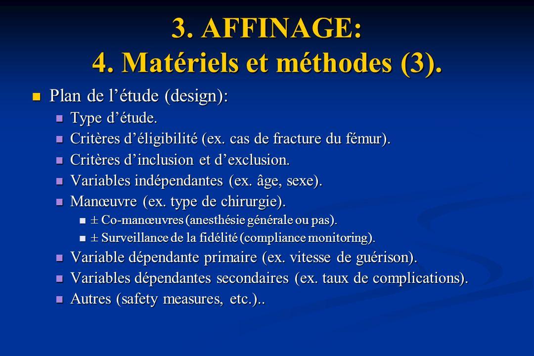 3.AFFINAGE: 4. Matériels et méthodes (3).