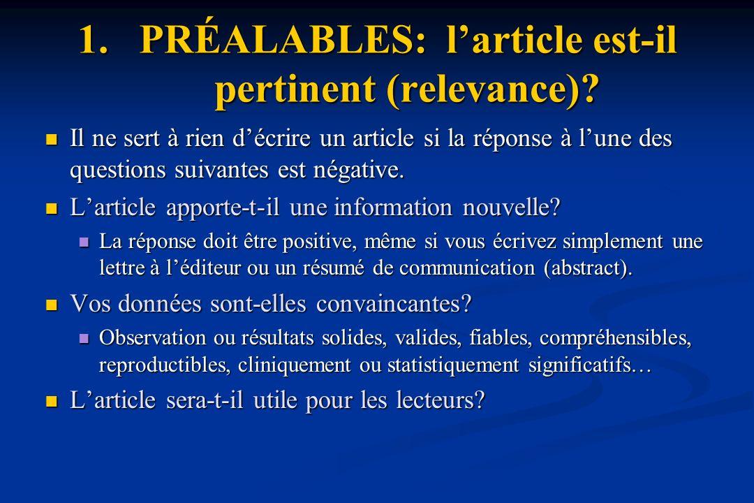 2.RÉDACTION: C. Principes sur la forme (1).