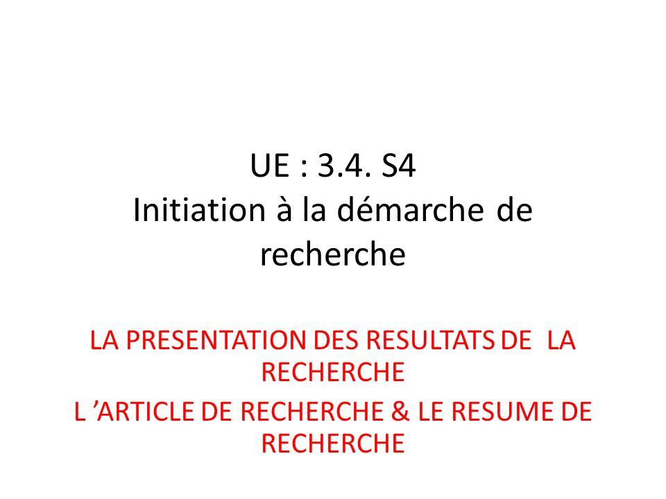 UE : 3.4.