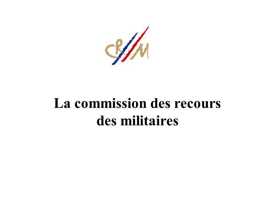 La commission des recours des militaires