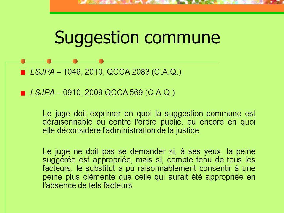 Réduction de peine : article 24(1) de la Charte (Suite) Si large et si discrétionnaire que soit le pouvoir dun Tribunal, ce pouvoir ne va pas jusquà p