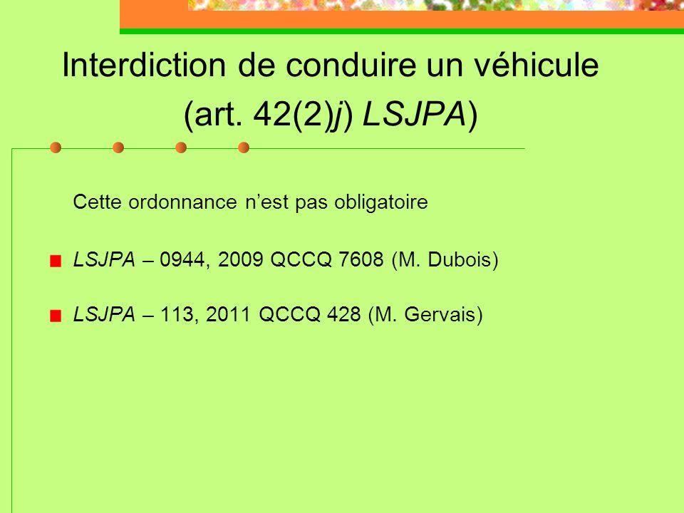 Assujettissement à la peine pour adulte (art. 62 et 72 LSJPA) Décision de principe: R. c. D.B., 2008 CSC 25 *** (art. 72 (1) modifié en conformité ave