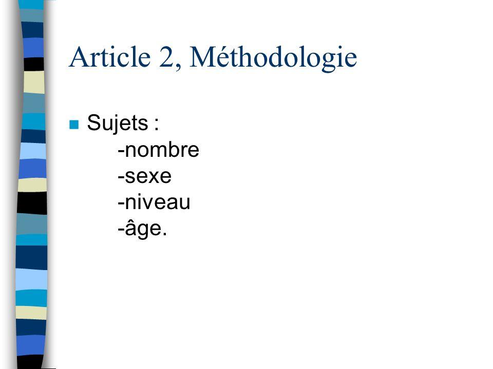 Article 2, Questions de recherche –Q1: Quelles sont les caractéristiques psychométriques des indicateurs de stress du DSP de Derogatis (version frança