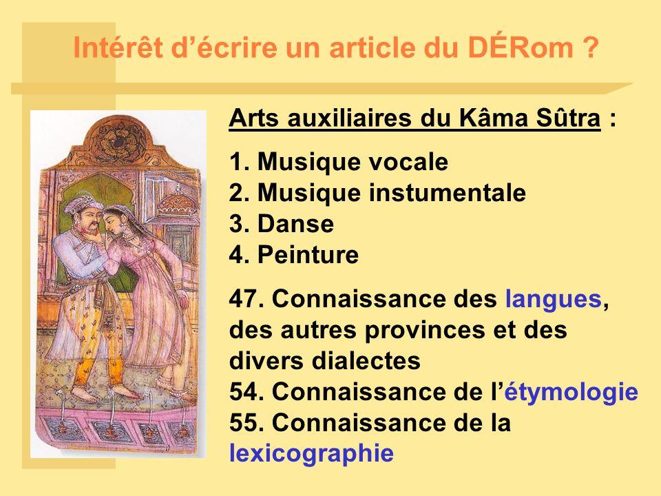 Intérêt décrire un article du DÉRom . 1. Musique vocale 2.