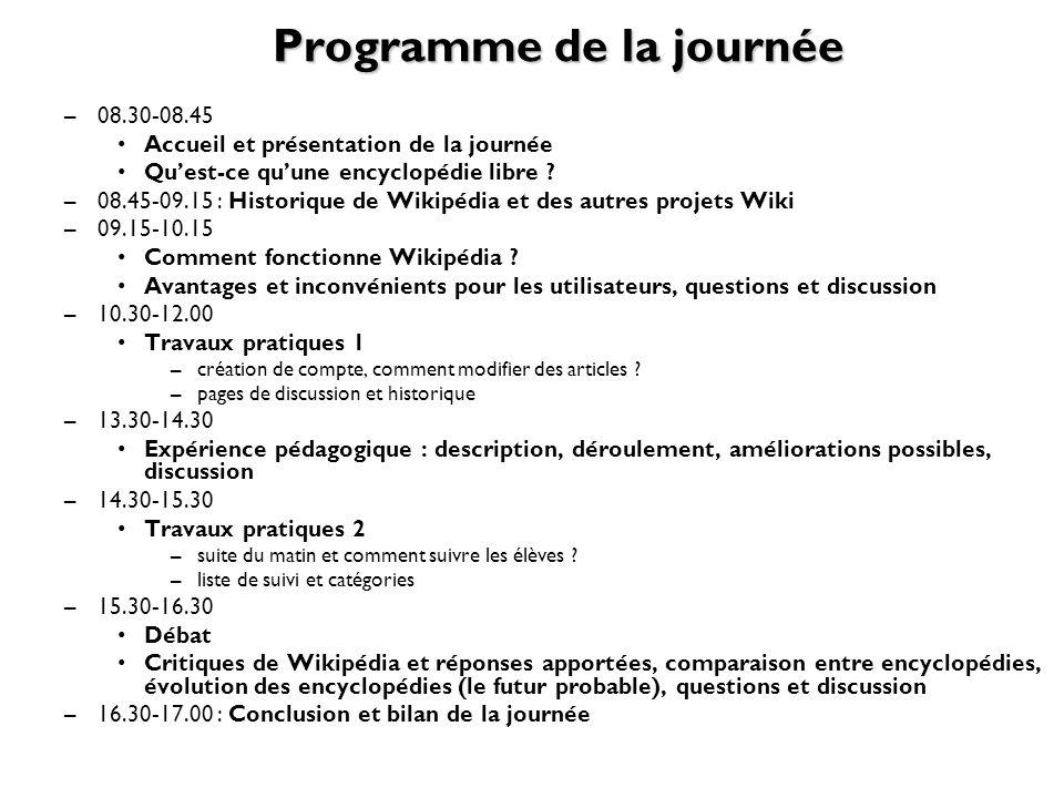 http://fr.wikipedia.org/wiki/Wikipédia:Principes_fondateurs5 principes fondateurs Wikipédia est une encyclopédie Wikipédia recherche la neutralité de point de vue Wikipédia publie un contenu libre Wikipédia suit des règles de savoir-vivre Wikipédia na pas de règles fixes
