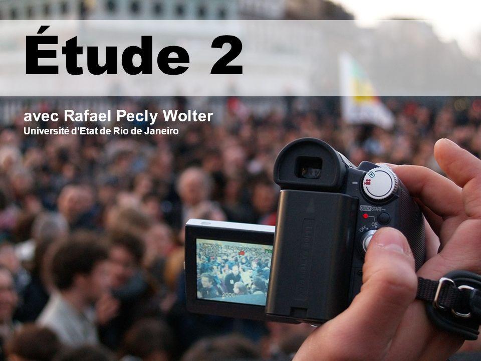 Etude 2 Étude 2 avec Rafael Pecly Wolter Université dEtat de Rio de Janeiro