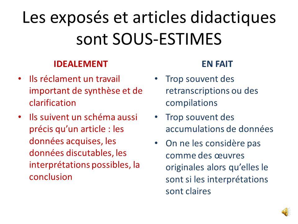 MÉMOIRE ou ARTICLE ? Cest la même chose sur le plan rédactionnel : un mémoire ou une thèse peuvent (doivent ?) être publiés Faire court, clair et obje