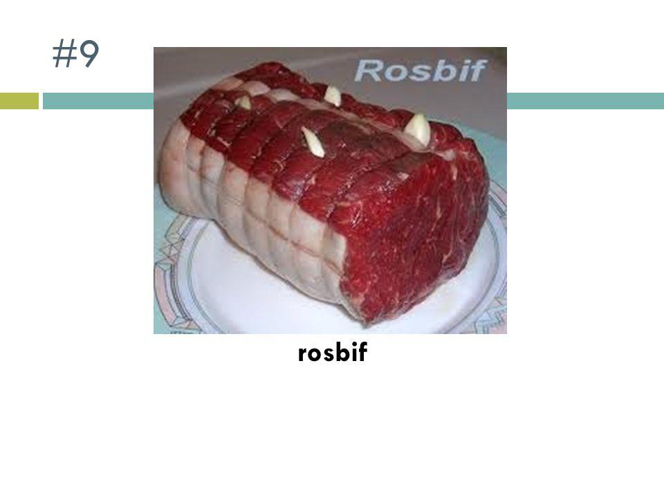 #9 rosbif