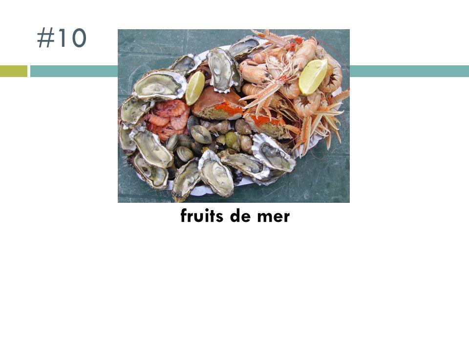#10 fruits de mer