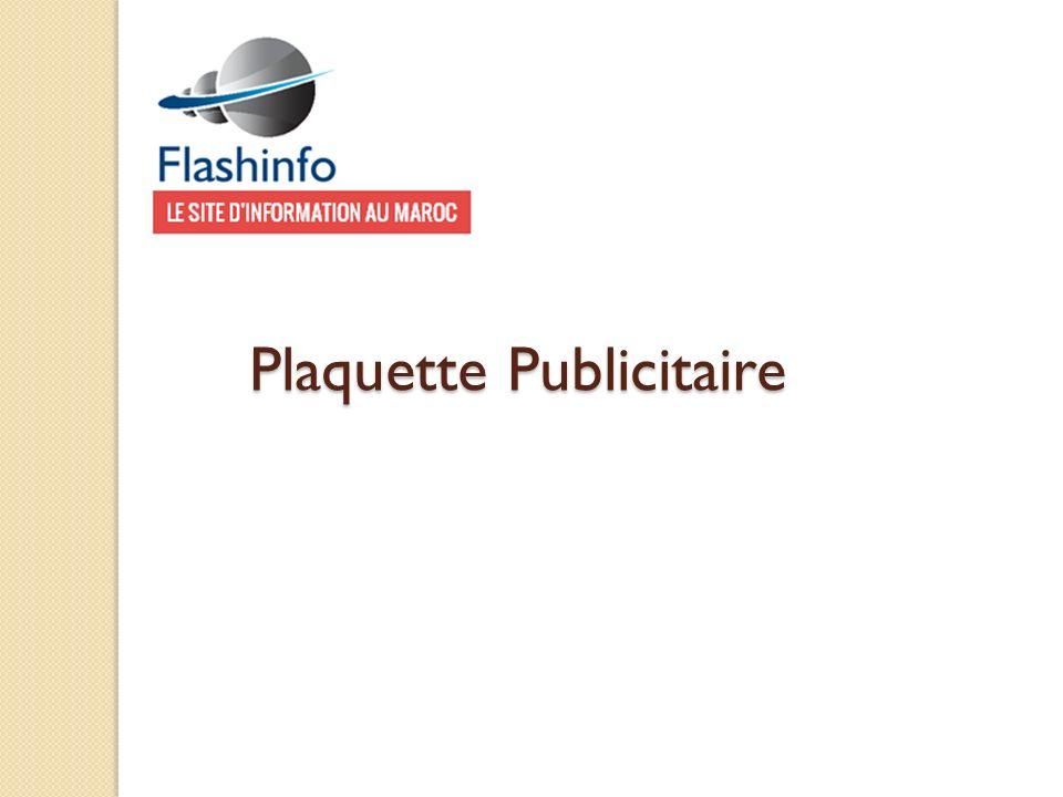 Plaquette Publicitaire