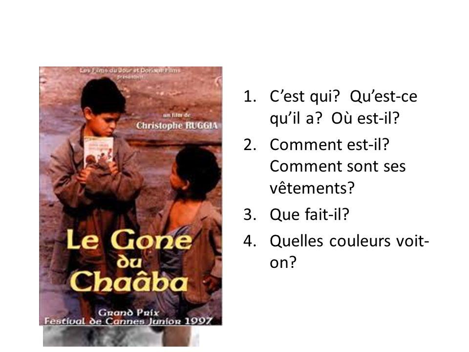 Le Gone du Chaâba – 3 e partie Décrivez les sentiments de la classe quand le prof annonce les résultats de la rédaction.