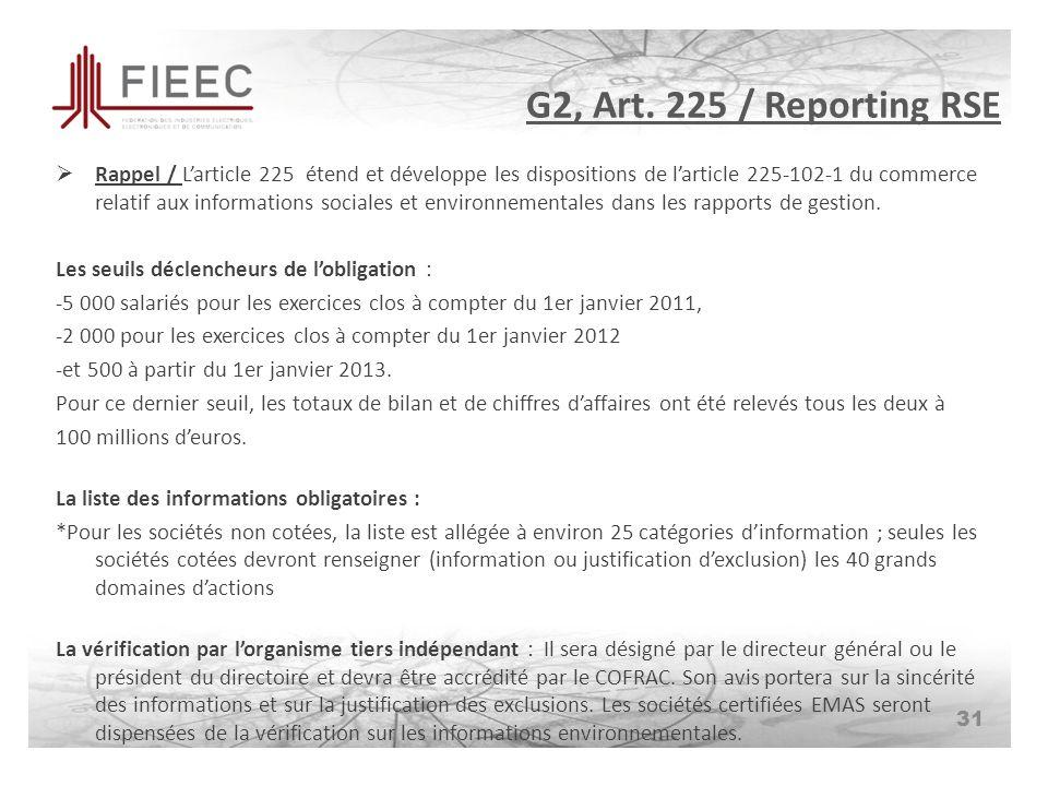 G2, Art.