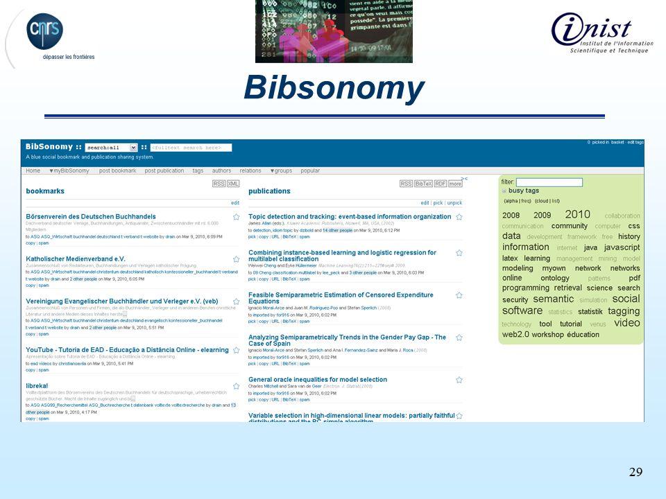 29 Bibsonomy 29