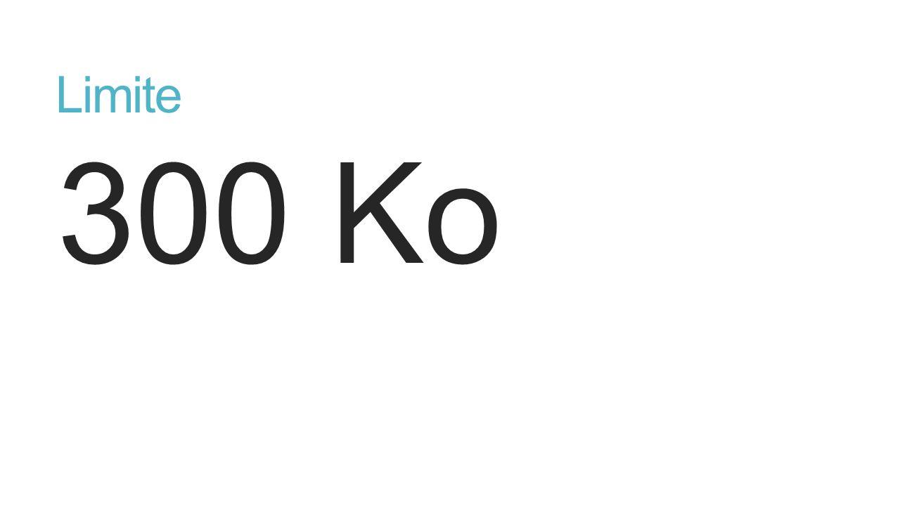 Limite 300 Ko