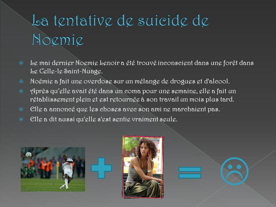 Le mai dernier Noemie Lenoir a été trouvé inconscient dans une forêt dans Le Celle-le Saint-Nuage. Noémie a fait une overdose sur un mélange de drogue