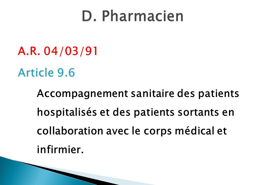 D.Pharmacien A.R.