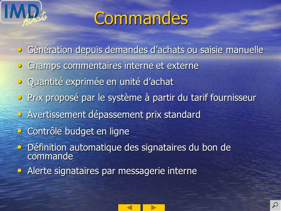 Exemple : Consultations