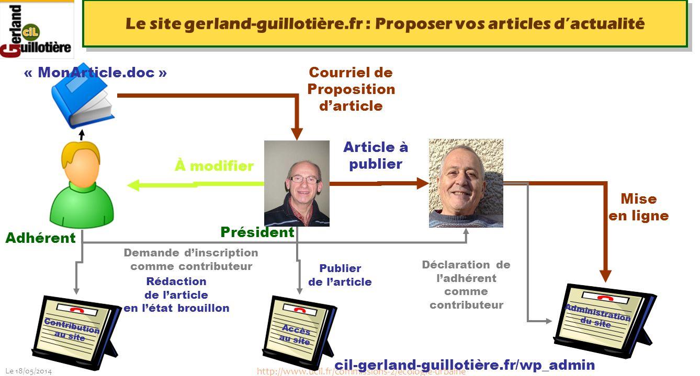 Le 18/05/2014 http://www.ucil.fr/commissions-2/ecologie-urbaine Le site gerland-guillotière.fr : Proposer vos articles dactualité À modifier Courriel