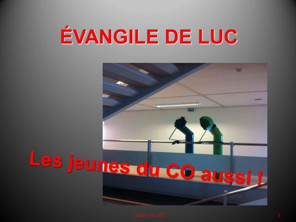ÉVANGILE DE LUC AMV-CO 20121 Les jeunes du CO aussi !