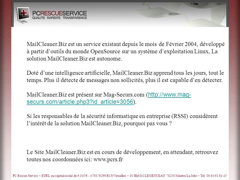 PC Rescue Service – EURL au capital social de 6 000 - 479379299 RCS Versailles – 30 Bld G.CLEMENCEAU 78200 Mantes La Jolie – Tel: 06 64 61 84 45 PC Rescue Service est joignable du lundi au samedi de 8 H à 21 H au: 06.64.61.84.45 Egalement par e-mail: Arnaud@PCRS.frArnaud@PCRS.fr Site Web: www.PCRS.fr Contact & Service