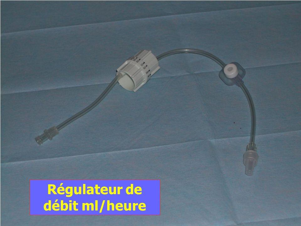 IFSI Ste marguerite - version 03 - PP - 2 année - revu le 27/07/05 Régulateur de débit ml/heure