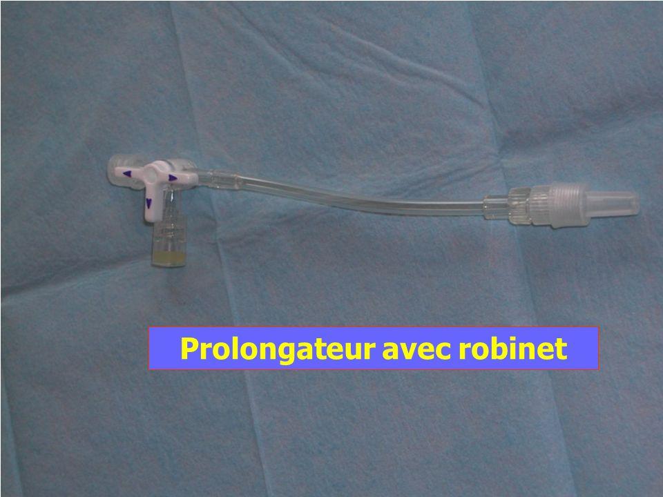 IFSI Ste marguerite - version 03 - PP - 2 année - revu le 27/07/05 Prolongateur avec robinet