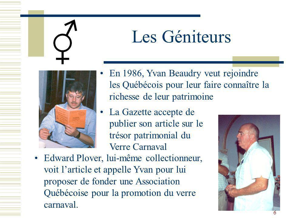 26 Le site internet 2006 à 2011 Afrique Australie Angleterre Asie France USA Et bien dautres Pierrette Duperron Conceptrice Jean-Christophe Qtronik Webmaster
