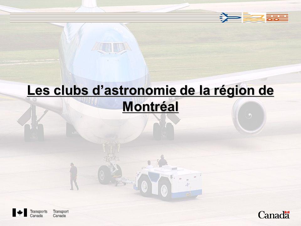 Les clubs dastronomie de la région de Montréal