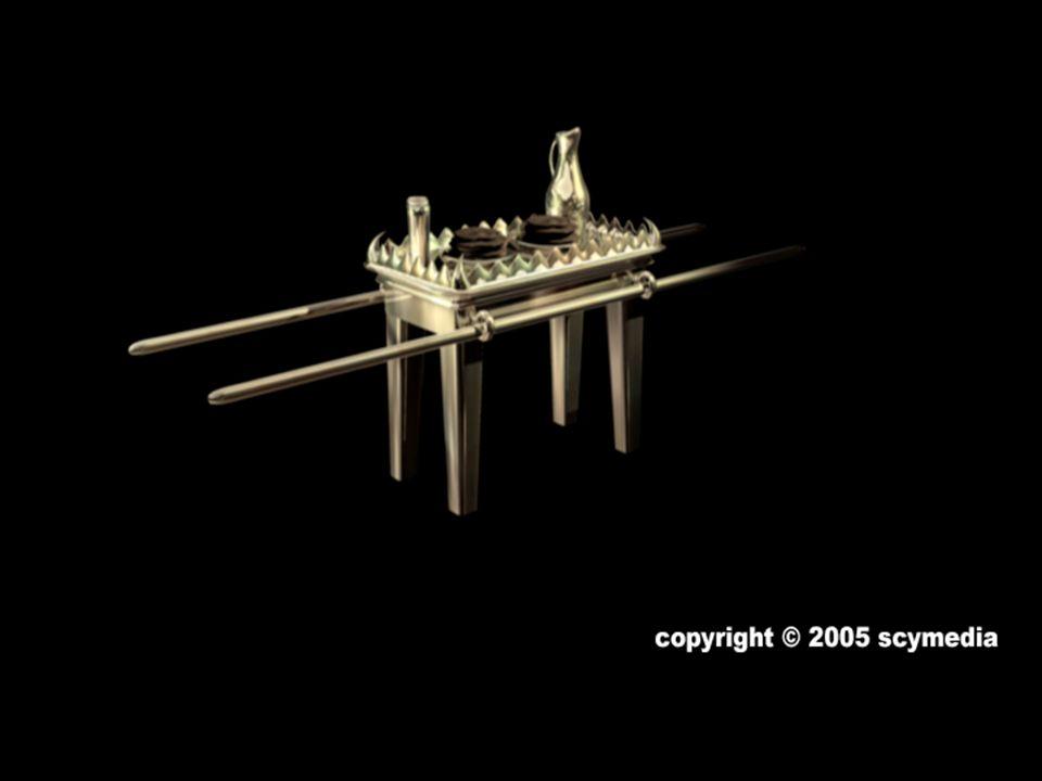 Le chandelier aux sept lampes (Exode 25:31-40) représentait Jésus, la lumière du monde (Jean 9:5; 1.9).